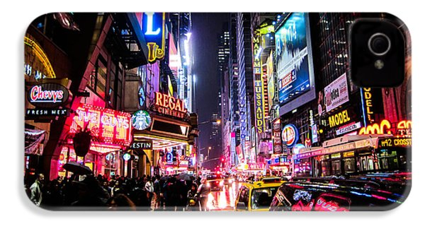 New York City Night IPhone 4 Case by Nicklas Gustafsson