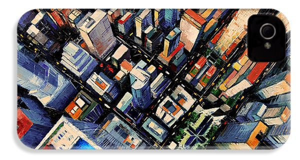 New York City Sky View IPhone 4 Case
