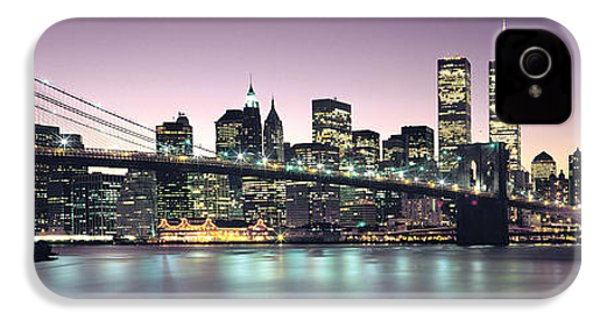 New York City Skyline IPhone 4 Case by Jon Neidert