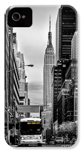 New York Express IPhone 4 Case by Az Jackson