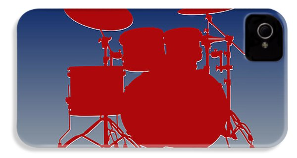 New York Giants Drum Set IPhone 4 Case by Joe Hamilton