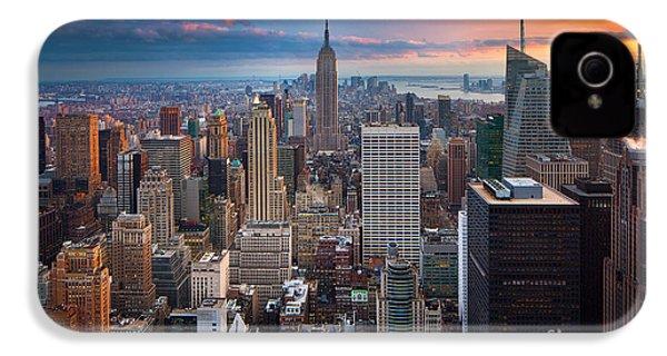 New York New York IPhone 4 Case by Inge Johnsson