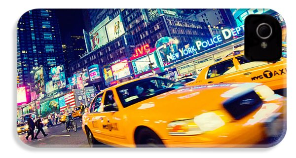 New York - Times Square IPhone 4 Case by Alexander Voss