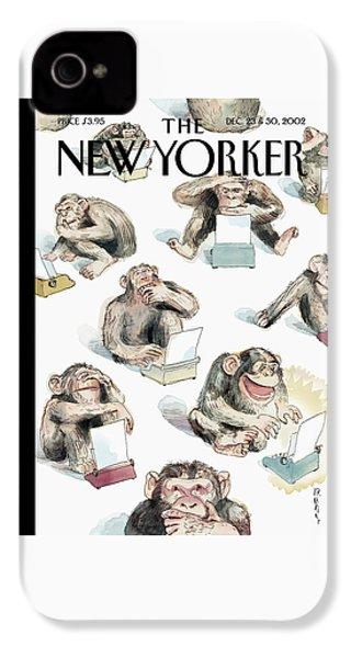 New Yorker December 23rd, 2002 IPhone 4 Case by Barry Blitt