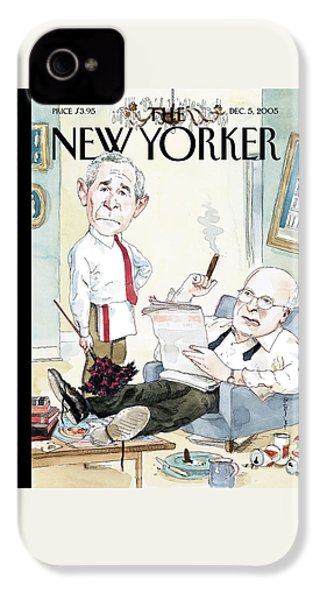 New Yorker December 5th, 2005 IPhone 4 Case by Barry Blitt