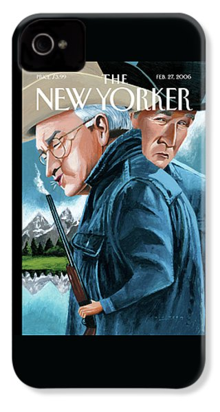 New Yorker February 27th, 2006 IPhone 4 Case by Mark Ulriksen