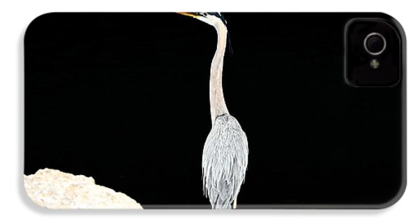 IPhone 4 Case featuring the photograph Night Of The Blue Heron  by Anthony Baatz