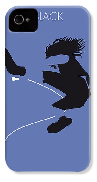 No008 My Pearl Jam Minimal Music Poster IPhone 4 Case