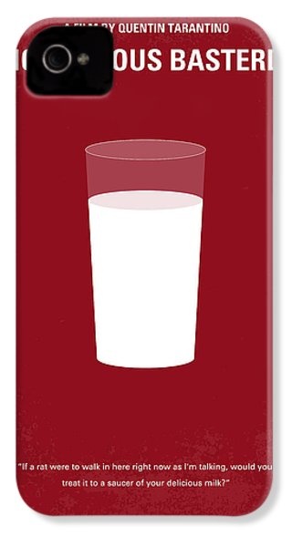 No138 My Inglourious Basterds Minimal Movie Poster IPhone 4 / 4s Case by Chungkong Art