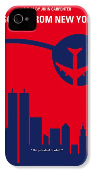No219 My Escape From New York Minimal Movie Poster IPhone 4 Case by Chungkong Art