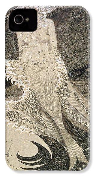 The Mermaid IPhone 4 Case by Sidney Herbert Sime