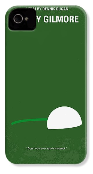 No256 My Happy Gilmore Minimal Movie Poster IPhone 4 Case by Chungkong Art
