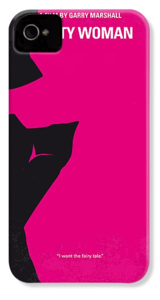 No307 My Pretty Woman Minimal Movie Poster IPhone 4 Case by Chungkong Art