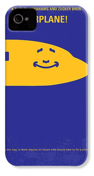 No392 My Airplane Minimal Movie Poster IPhone 4 / 4s Case by Chungkong Art