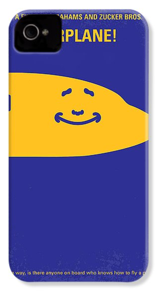 No392 My Airplane Minimal Movie Poster IPhone 4 Case by Chungkong Art