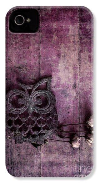 Nocturnal In Pink IPhone 4 / 4s Case by Priska Wettstein