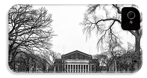 Northrop Auditorium At The University Of Minnesota IPhone 4 Case by Tom Gort