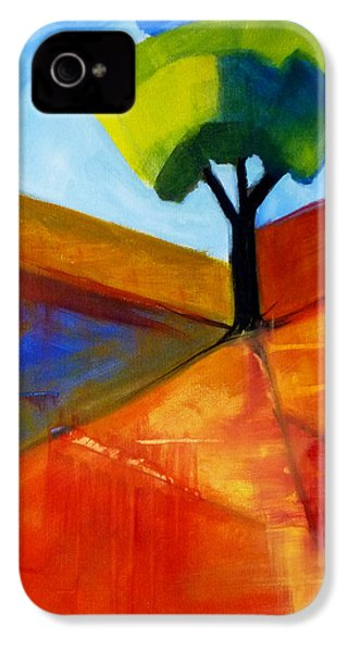 Not Alone IPhone 4 Case by Nancy Merkle