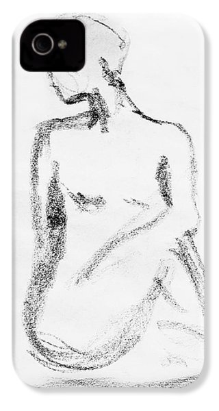 Nude Model Gesture Vi IPhone 4 Case