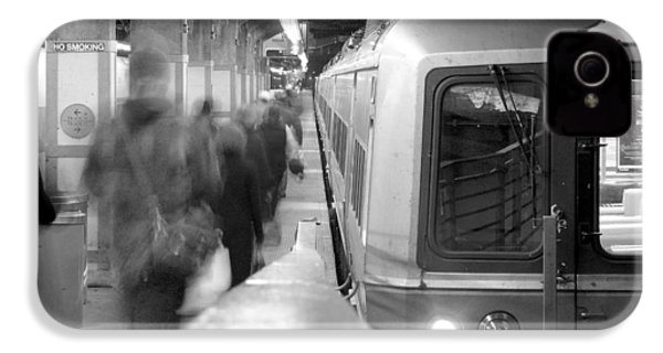 Metro North/ct Dot Commuter Train IPhone 4 / 4s Case by Mike McGlothlen