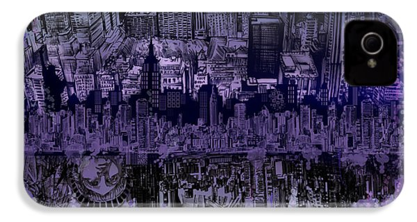 Nyc Tribute Skyline IPhone 4 Case