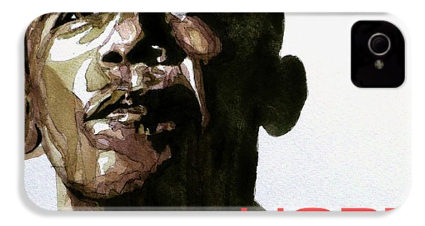 Obama Hope IPhone 4 Case by Paul Lovering