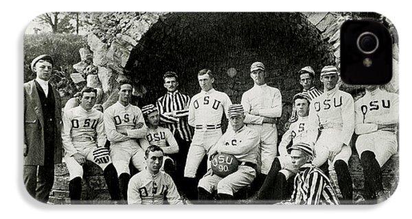 Ohio State Football Circa 1890 IPhone 4 Case by Jon Neidert