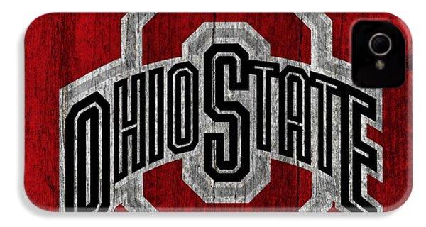 Ohio State University On Worn Wood IPhone 4 Case