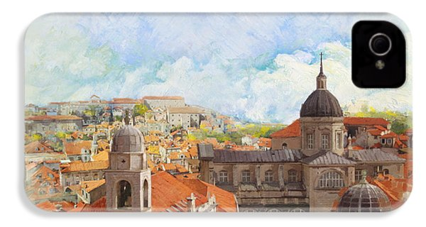 Old City Of Dubrovnik IPhone 4 Case by Catf