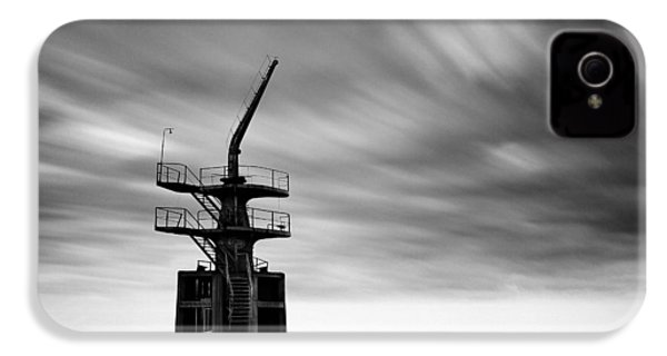 Old Crane IPhone 4 Case by Dave Bowman