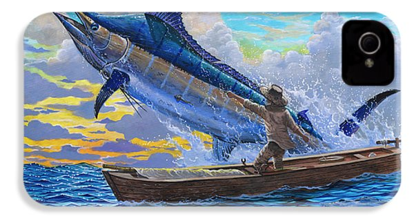Old Man And The Sea Off00133 IPhone 4 Case by Carey Chen
