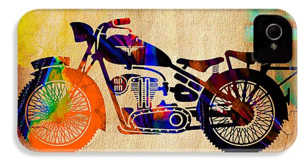 Old Motorbike IPhone 4 / 4s Case by Marvin Blaine