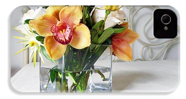Orchid Bouquet IPhone 4 Case