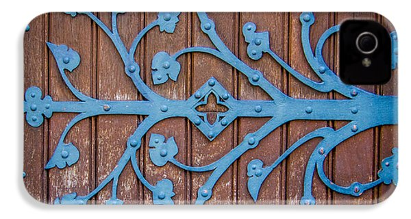 Ornate Church Door Hinge IPhone 4 Case by Mr Doomits