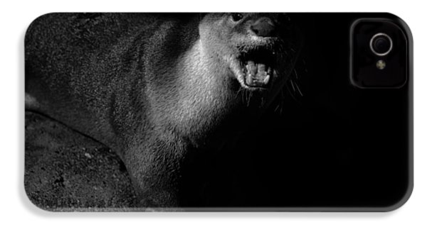 Otter Wars IPhone 4 Case by Martin Newman