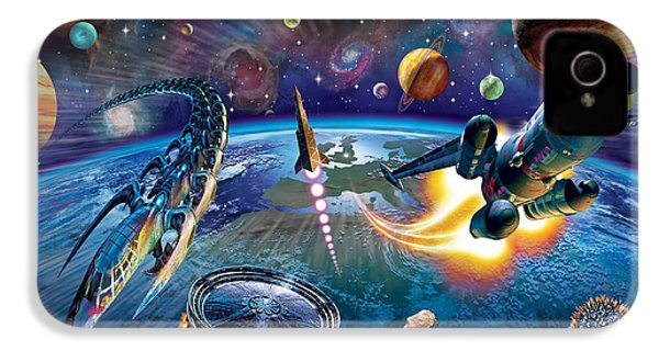 Outer Space IPhone 4 Case by Adrian Chesterman