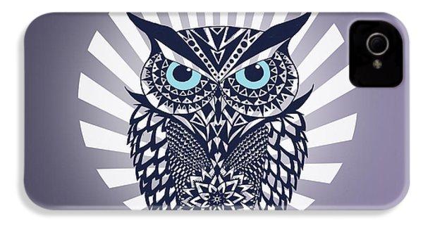 Owl IPhone 4 Case by Mark Ashkenazi