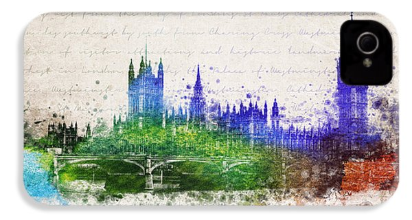 Palace Of Westminster IPhone 4 Case by Aged Pixel