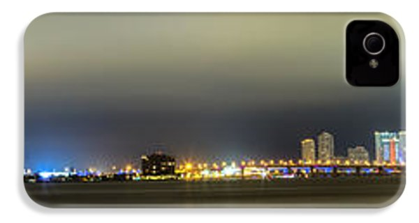 Panorama Of Biscayne Bay In Miami Florida IPhone 4 Case