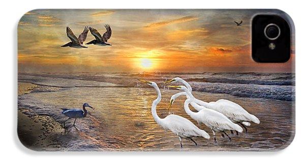Paradise Dreamland  IPhone 4 / 4s Case by Betsy Knapp