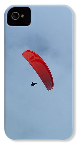 IPhone 4 Case featuring the photograph Parapente by Marc Philippe Joly