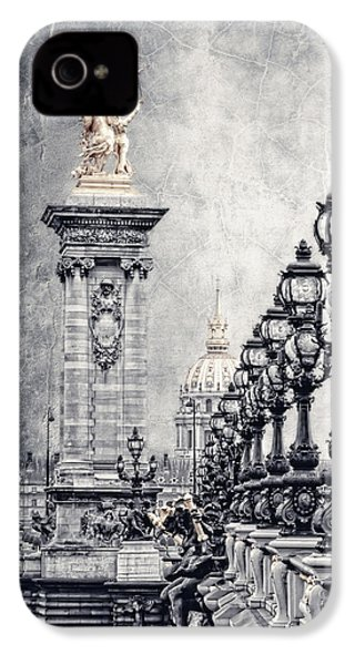 Paris Pompous 2 IPhone 4 / 4s Case by Joachim G Pinkawa
