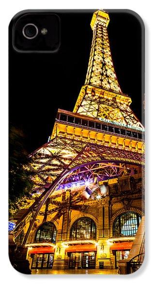 Paris Under The Tower IPhone 4 Case by Az Jackson