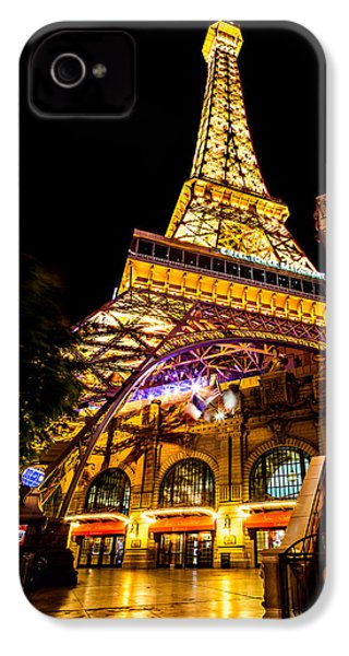 Paris Under The Tower IPhone 4 Case by Az Jackson