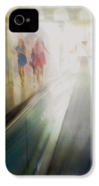 Party Girls IPhone 4 Case by Alex Lapidus