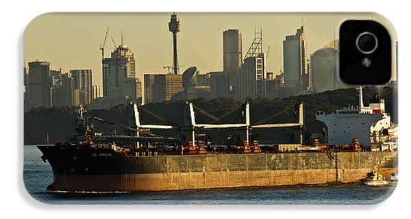 IPhone 4 Case featuring the photograph Passing Sydney In The Sunset by Miroslava Jurcik