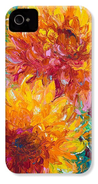 Passion IPhone 4 Case by Talya Johnson