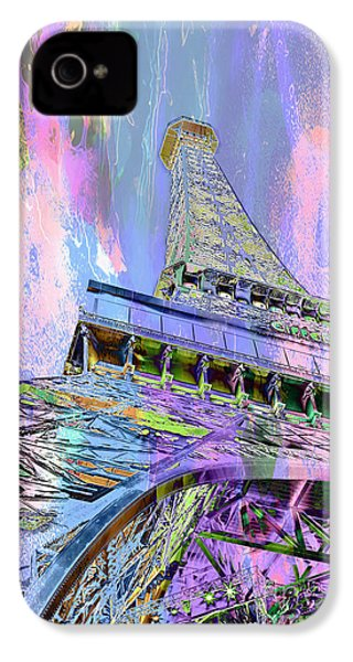 Pastel Tower IPhone 4 Case by Az Jackson