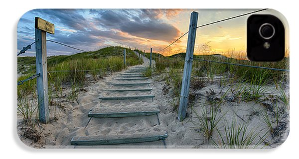 Path Over The Dunes IPhone 4 / 4s Case by Sebastian Musial