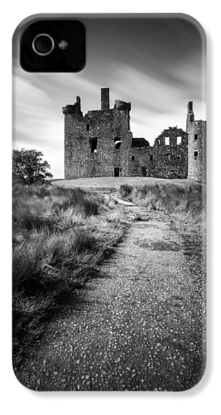 Path To Kilchurn Castle IPhone 4 Case by Dave Bowman